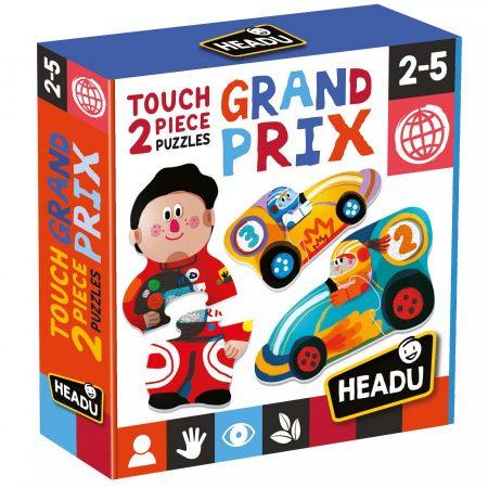 Touch 2 pieces Puzzles Grand Prix - Headu