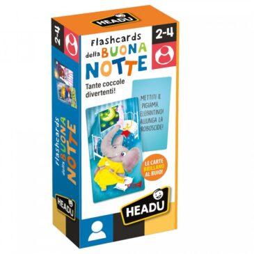 Flash cards della buonanotte - Headu