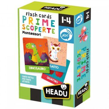 Flashcards Prime scoperte Montessori - Headu