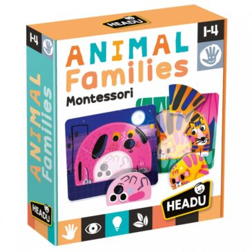 Animal families Montessori - Headu