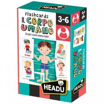Flashcards Il corpo umano - Headu