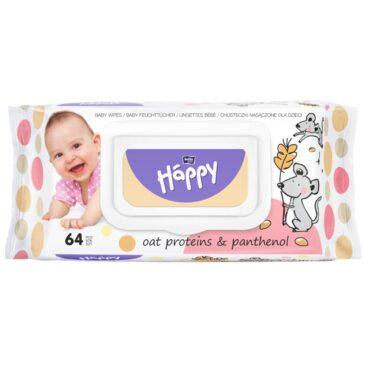 Salviette oat proteins 64 pz - Bella Happy