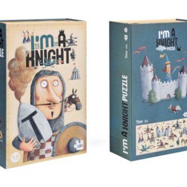 Puzzle 100 pz. I'm a Knight - Londji