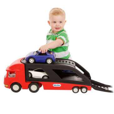 LITTLE TIKES GRANDE BISARCA CON AUTO