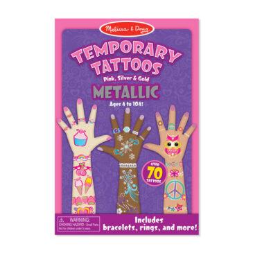 metallic temporary tattoos - Melissa and Doug