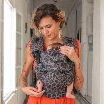 Neko Switch Baby size Pars - Marsupio ergonomico regolabile