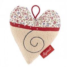 Sonaglio cuore in cotone organico - Sigikid