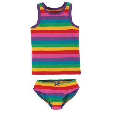 Canottiera e mutandina rainbow - Frugi