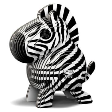 3D kit costruisco la zebra - Eugy