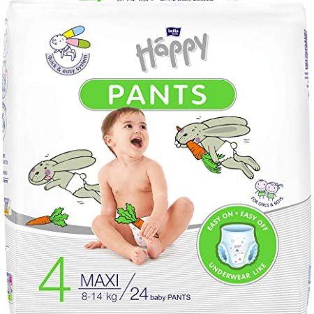 pants 4 maxi 8-14 kg 24 pezzi - Happy