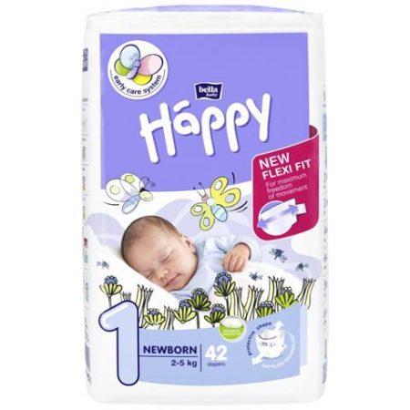 Pannolini taglia 1 pacco da 42 pezzi - Happy