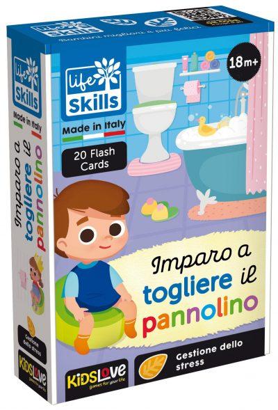Life skills Imparo a togliere il pannolino - Kidslove