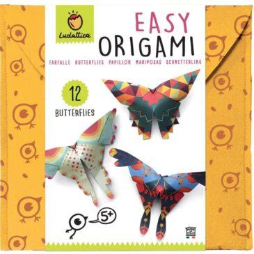 Origami farfalle - Ludattica