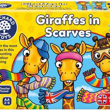 Giraffe con le sciarpe - Orchard toys