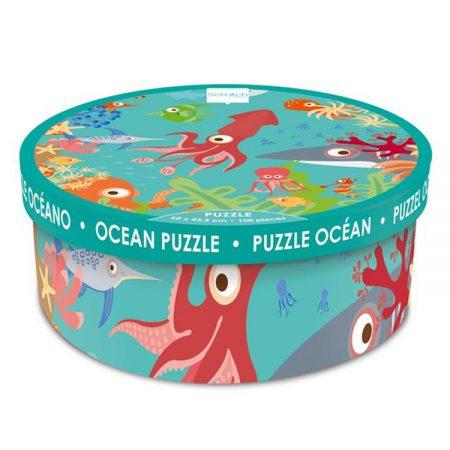 Puzzle Oceano 100 pz. - Scratch