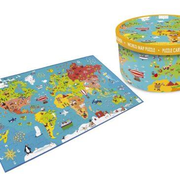 Puzzle Mappa del Mondo 150 Pz - Scratch