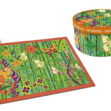 Puzzle Crazy Jungle 200 pz. - Scratch