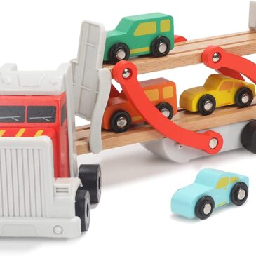 Bisarca con 4 Auto e Ponte - Top bright