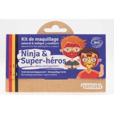 Kit make up ninja e supereroe - Namaki