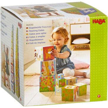 Cubi impilabili rapunzel – Divertimento fattoria - Haba