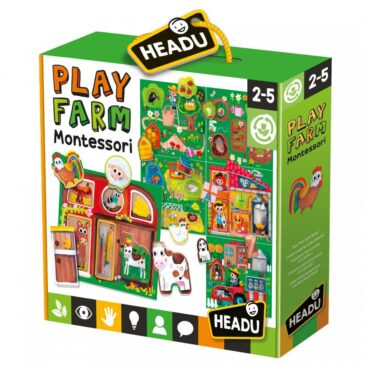 Baby play farm Montessori - Headu