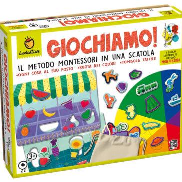 Giochiamo Il Metodo Montessori in Una Scatola - Ludattica