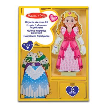 Dress Up Doll Magnetico Princess - Melissa and Doug