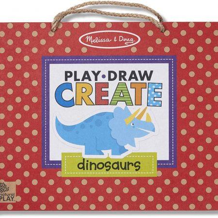 Kit da Disegno e Magnetico Riutilizzabile Dinosauri - Melissa and Doug