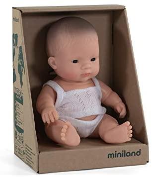 Mini bambola asiatica maschio 21 cm. - Miniland