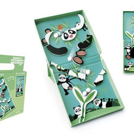 Puzzle magnetico 2 in 1 panda - Scratch