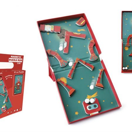 Puzzle magnetico 2 in 1 robot - Scratch