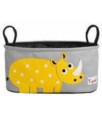 Portaoggetti per passeggino rinoceronte - 3 Sprouts