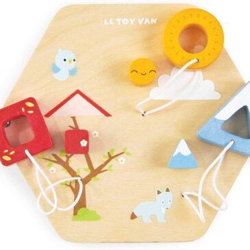 Activity da muro puzzle - Le toy van