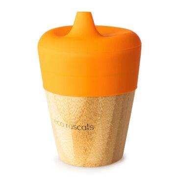 Bicchiere Sippy Arancio - Eco Rascals