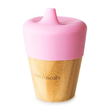 Bicchiere Sippy Rosa - Eco Rascals
