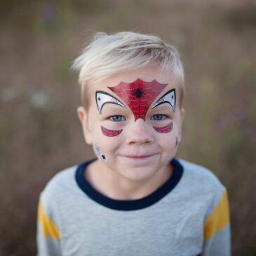 Stickers da viso spiderman - Great Pretenders
