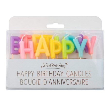 Candeline happy birthday - Great Pretenders
