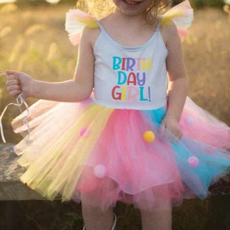 Completo happy birthday 4/5 anni - Great pretenders