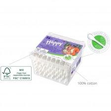Cotton Fioc Neonati Biodegradabili 56 pz - Bella Happy