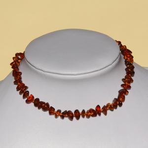 Collanina d'ambra Cognac - Alma Briosa