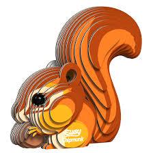 3Dkit costruiscolo scoiattolo - Eugy