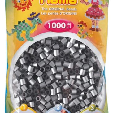 1000 Perline da stirare grigio chiaro - Hama