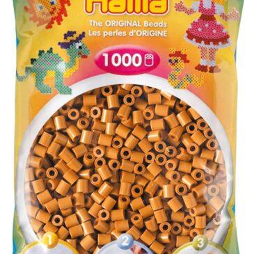 1000 Perline da stirare marrone chiaro - Hama