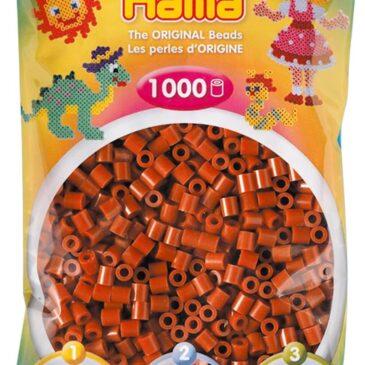 1000 Perline da stirare marrone - Hama