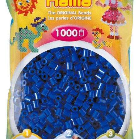 1000 Perline da stirare blu - Hama