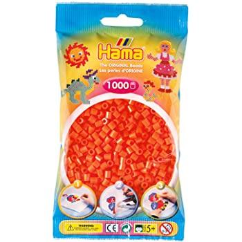 1000 Perline da stirare arancine - Hama