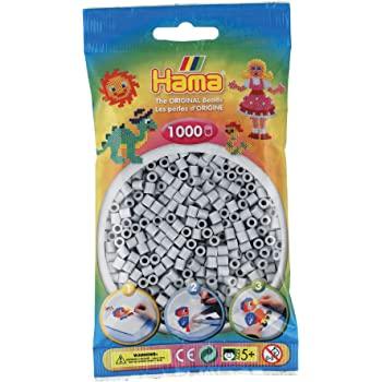 1000 Perline da stirare grigio perla - Hama
