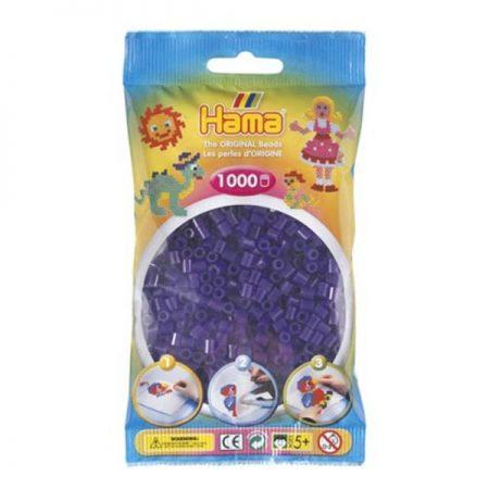 1000 Perline da stirare viola scuro - Hama