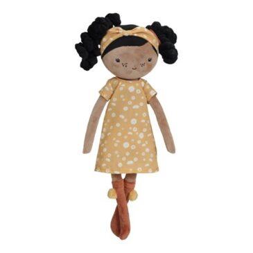 bambola 35 cm. capelli neri - Little Dutch