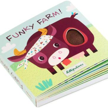 """Libro sonoro Funky farm!"""" - Lilliputiens"""